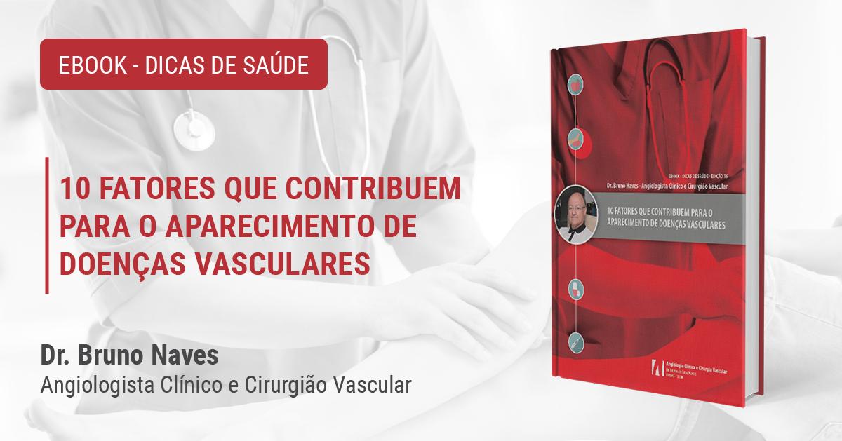 E-book: 10 fatores que contribuem para o aparecimento de doenças vasculares